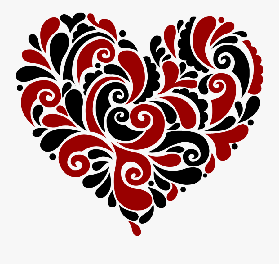 Download Heart Swirl Cliparts - Heart Mandala Svg Free , Free Transparent Clipart - ClipartKey