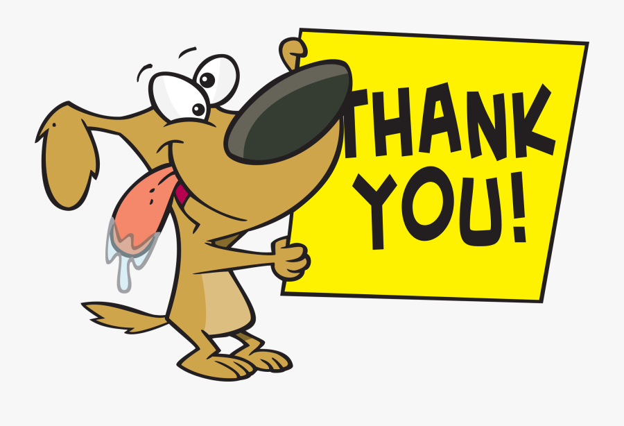 Customer Service Is Our Specialty - Say Thank You Cartoon, Transparent Clipart