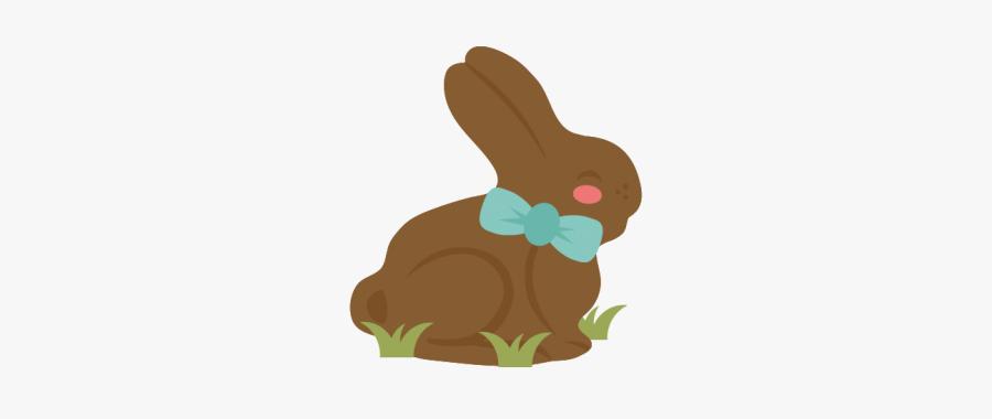 #chocolatebunny #chocolate #bunny #bunnyears #easter - Easter Chocolate Bunny Clip Art, Transparent Clipart