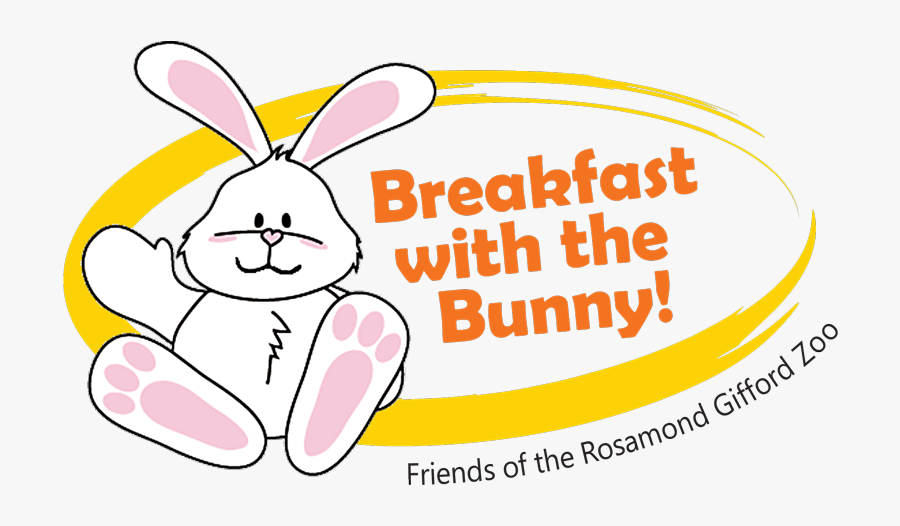Easter Breakfast With Bunny, Transparent Clipart
