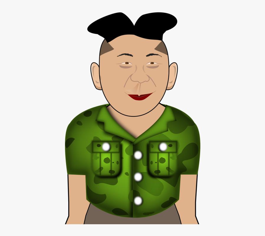 Facial Hair,happiness,human Behavior - Kim Jong Un Pdf, Transparent Clipart