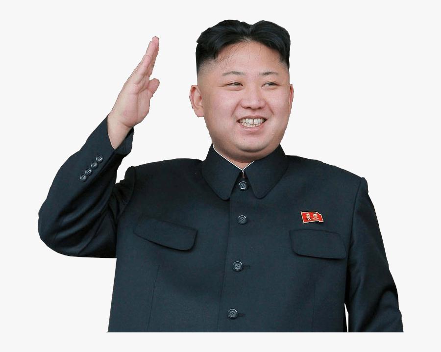 Kim Jong Un Waving - Kim Jong Un No Background, Transparent Clipart