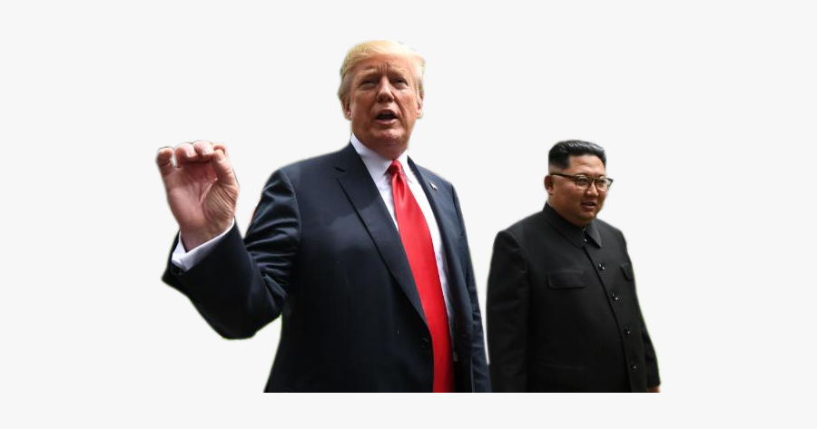 Trump E Kim Jong Un Png, Transparent Clipart