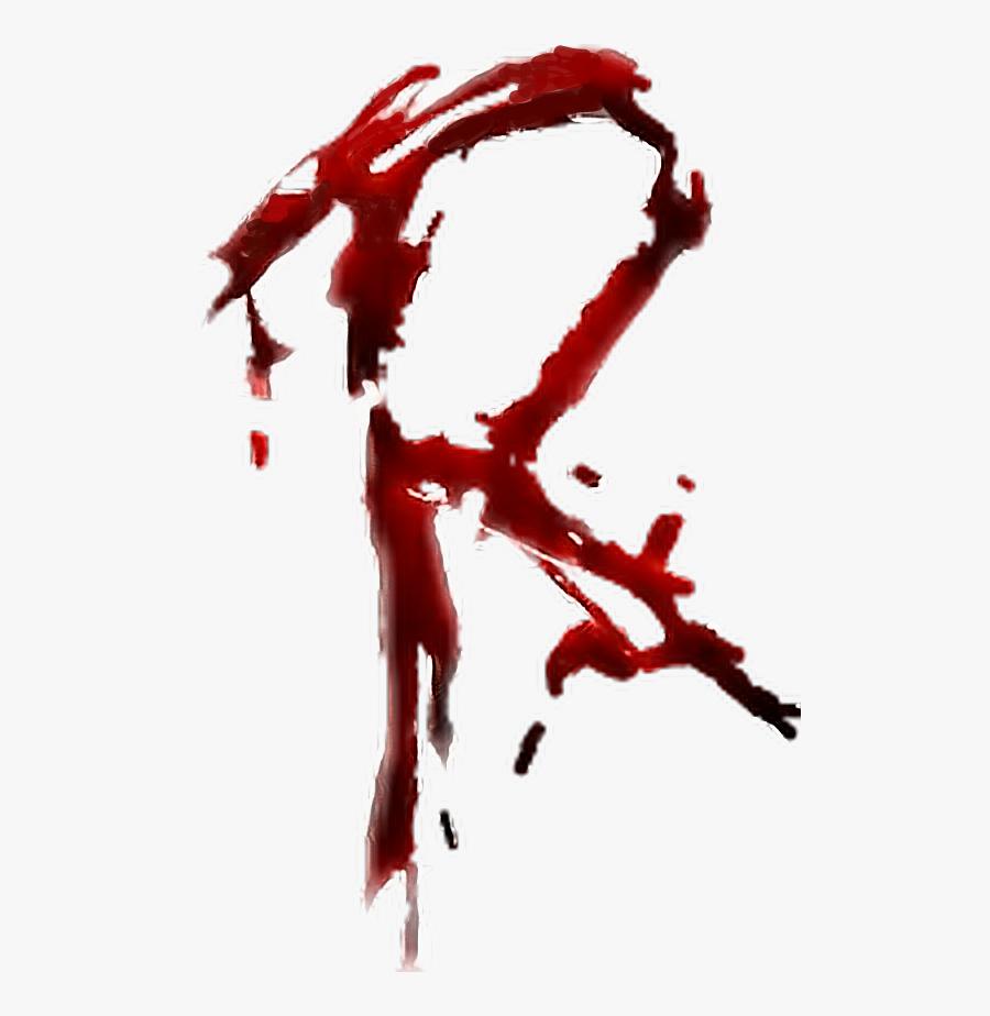 Transparent Letter Writing Clipart - R Letter Blood Png, Transparent Clipart