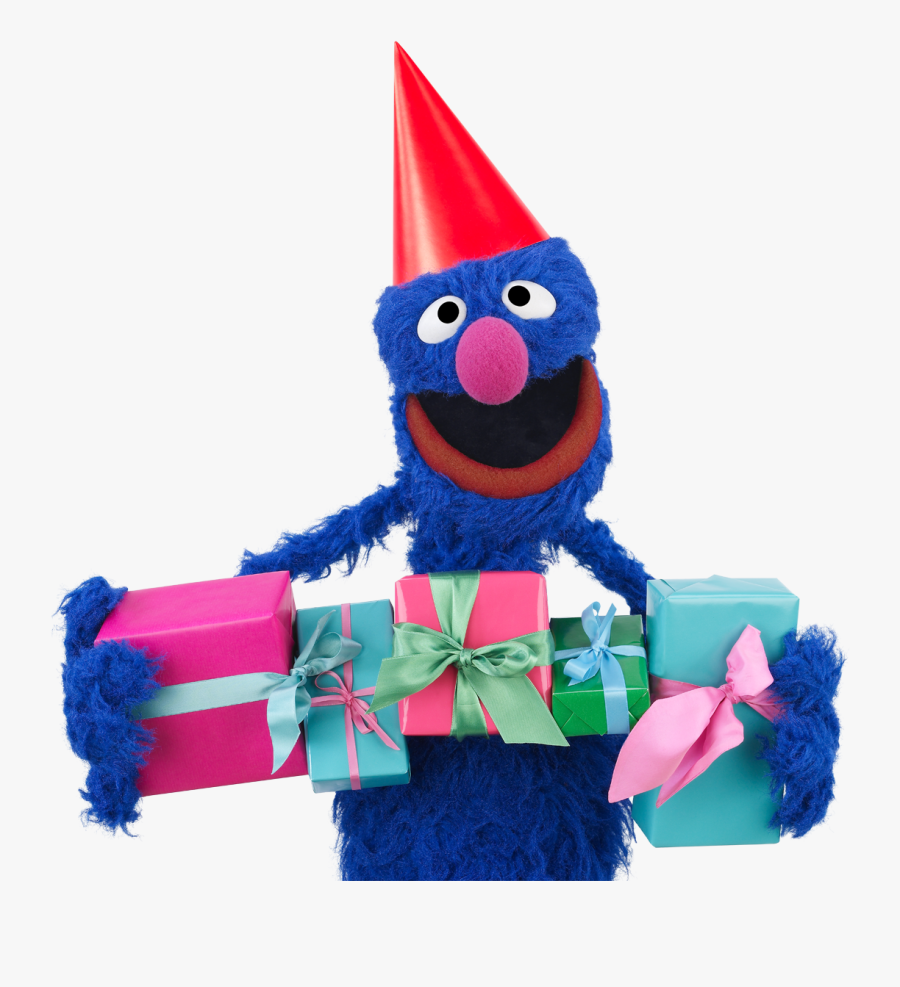 Sesame Street Characters Birthday Grover Muppet Happy