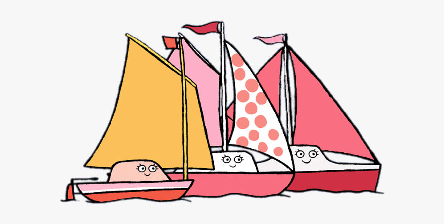 Toot Characters Posh Yachts - Sail, Transparent Clipart