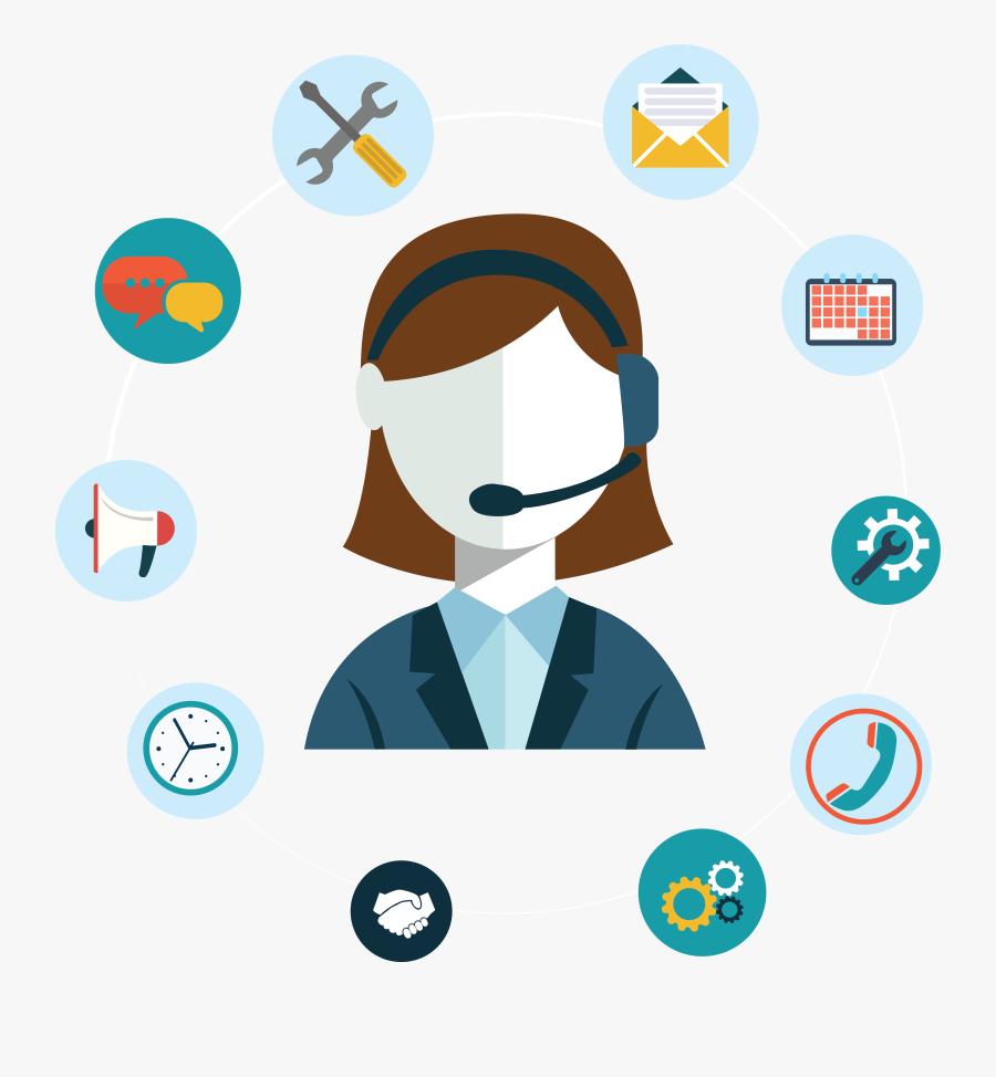 Tourist Clipart Travel Service - Customer Service Logo Png, Transparent Clipart