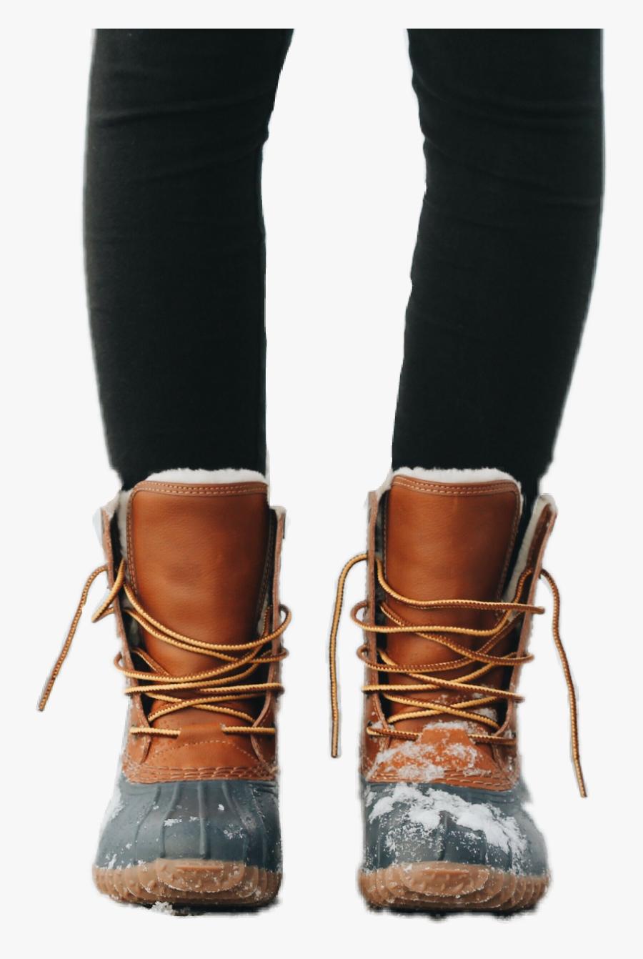 Transparent Botas Png - Warm Boots, Transparent Clipart