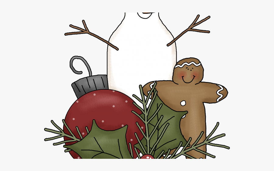 Country Christmas Cliparts - 21 More Days Until Christmas, Transparent Clipart