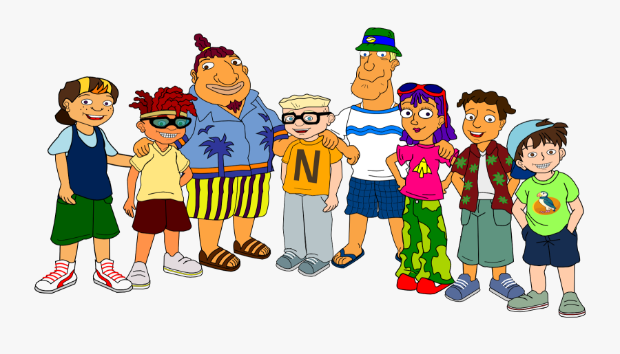 #parenting #educating A Teenager - Tito Rocket Power Characters, Transparent Clipart