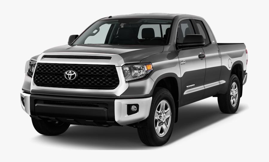 Land Truck,motor Vehicle,white,automotive Exterior,toyota - 2019 Toyota Tundra Png, Transparent Clipart