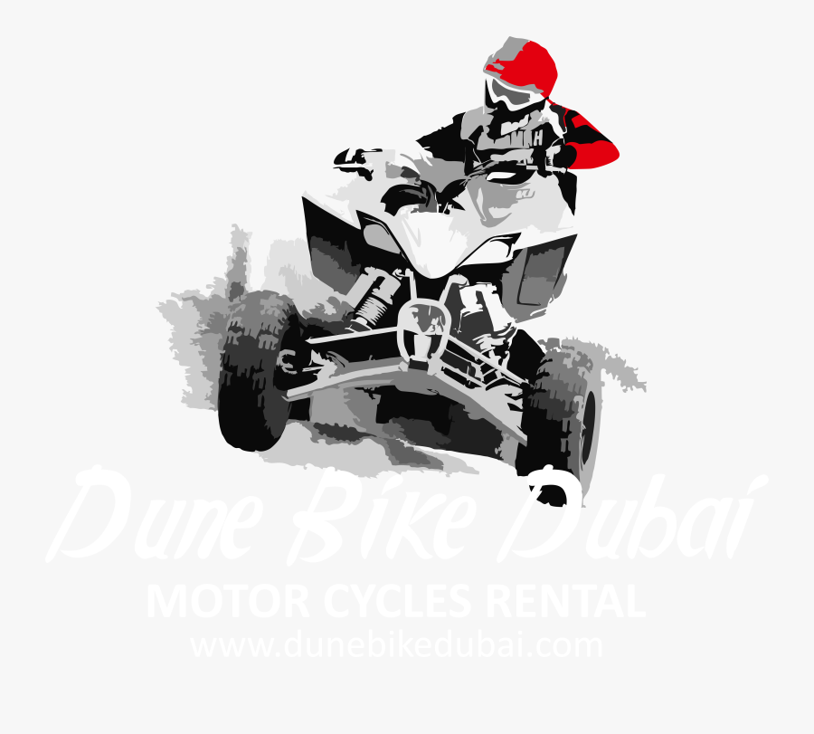 Dirt Bike Ride In Dubai - All-terrain Vehicle, Transparent Clipart