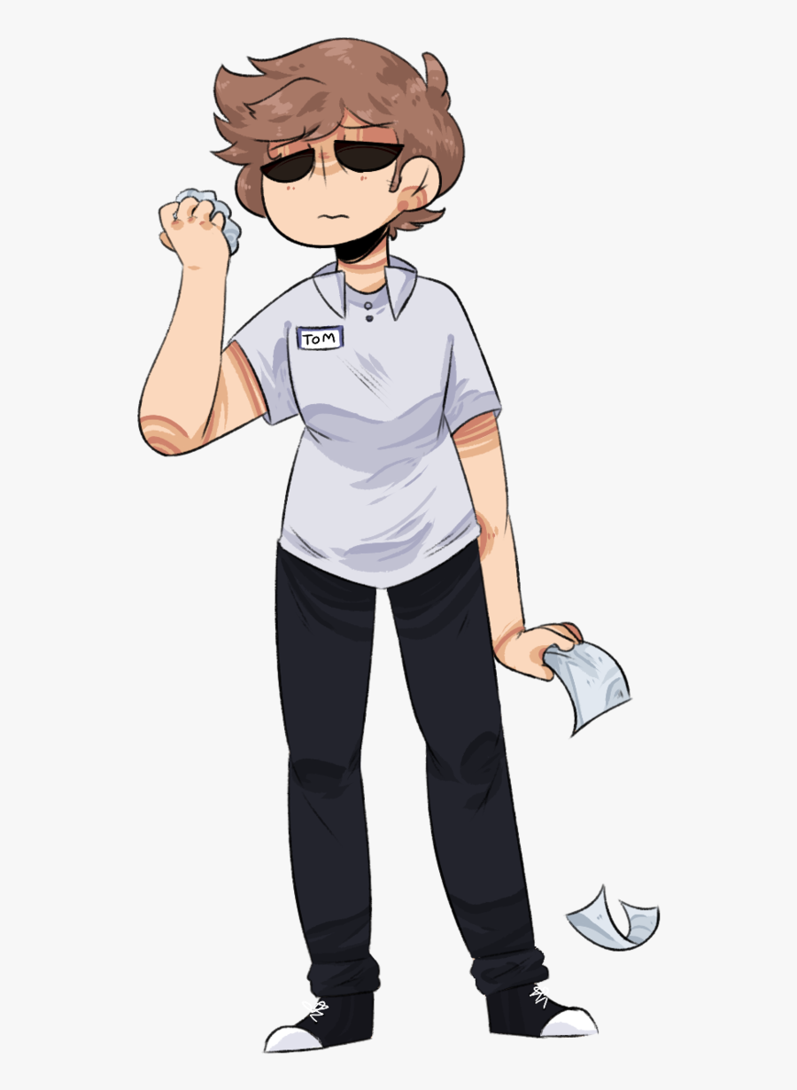 Shade Drawing Person - Cartoon, Transparent Clipart