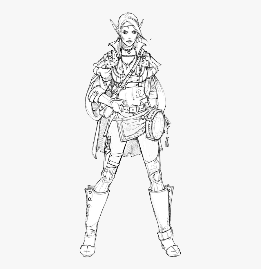 Armour Drawing Person, Transparent Clipart