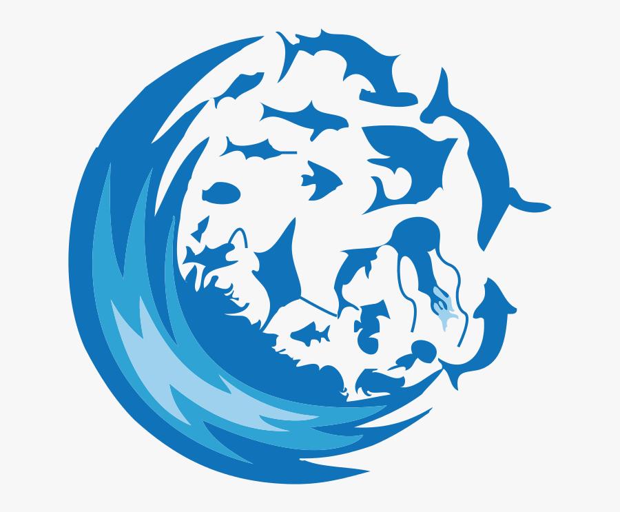 Peo-ocean Dive View - Ocean Icon Png, Transparent Clipart