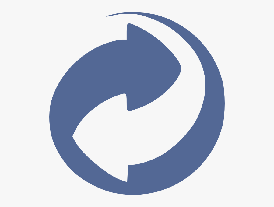 Blue Circle Arrow No Text Svg Clip Arts - Green Dot Symbol Clear Background, Transparent Clipart