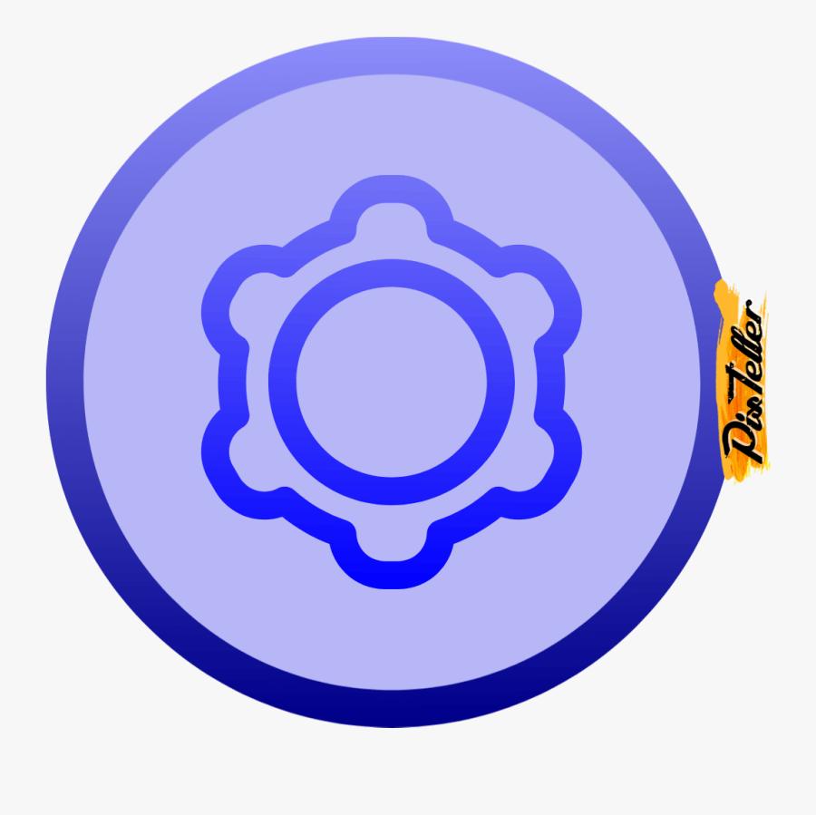 Purple, Circle, Font, Clip, Art, Line, Area, Graphics, - Design And Development Icon, Transparent Clipart