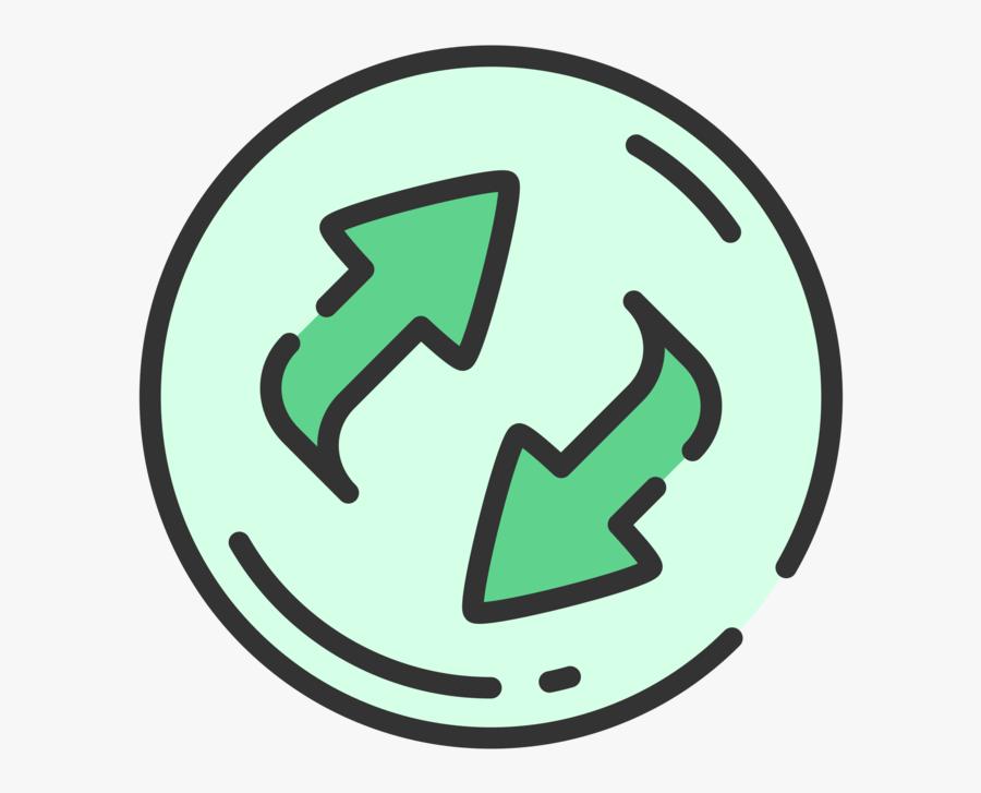 Area,symbol,brand - Refresh Clipart White, Transparent Clipart