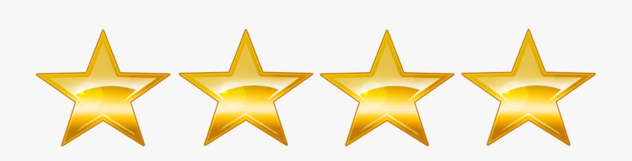 4 Star Png - 5 Star Rating Transparent, Transparent Clipart