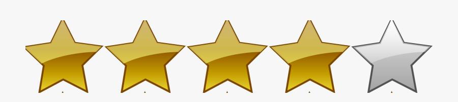 1 Star Rating Png, Transparent Clipart