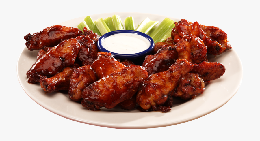 Chicken Wings Bbq Png, Transparent Clipart