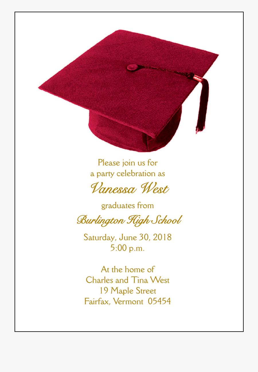 Clip Art Graduation Card Invitations Contoh Surat