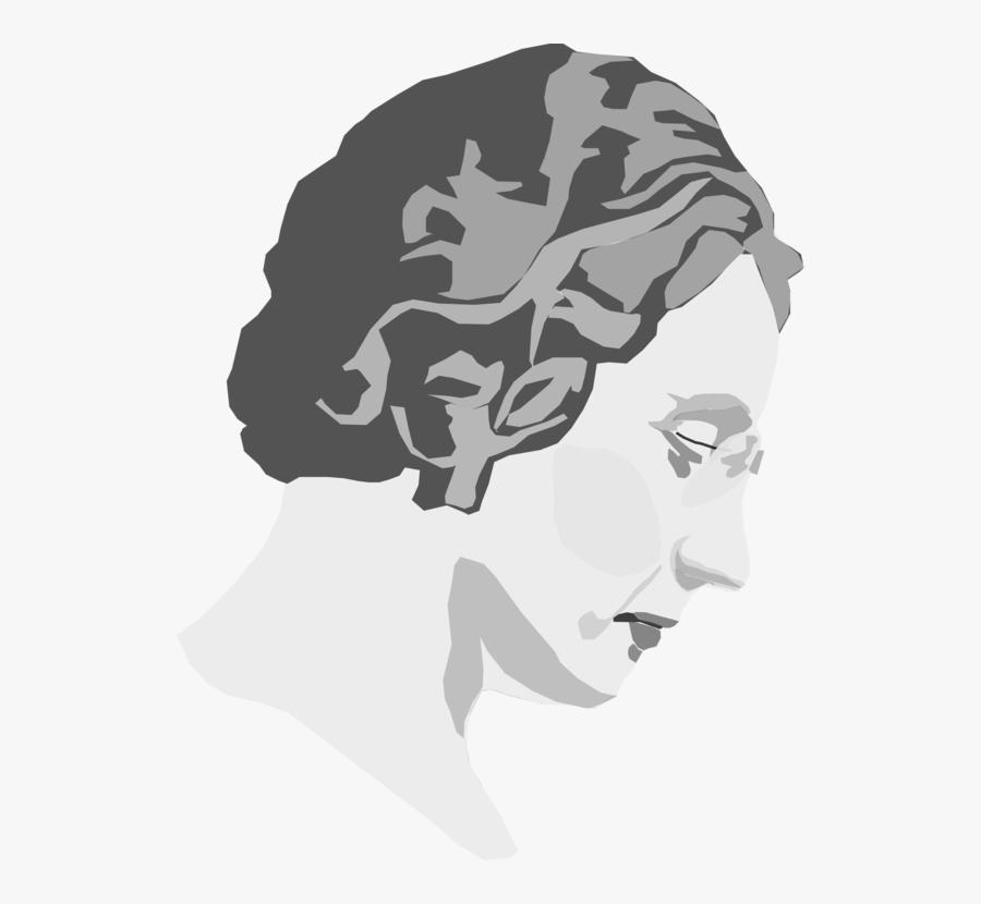 Head,silhouette,art - Feminism Png, Transparent Clipart