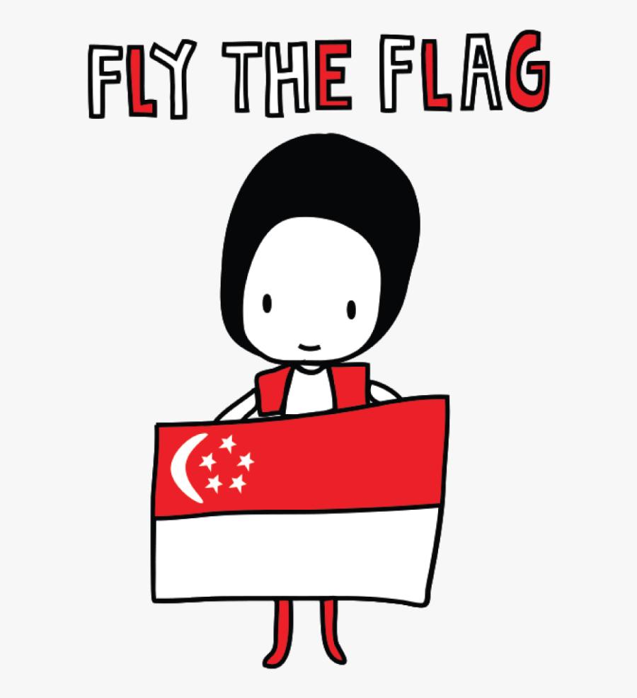 Transparent Housewarming Clipart - National Day Clipart Singapore, Transparent Clipart