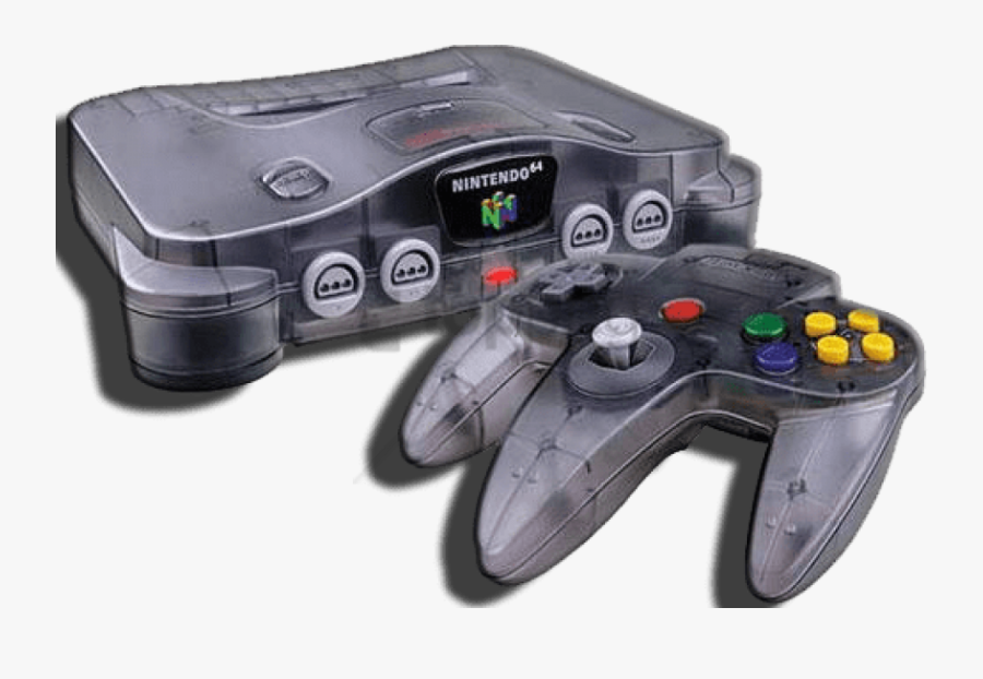 Gadget,home Game Console Accessory,video Game Accessory,game - Nintendo 64 Transparent, Transparent Clipart