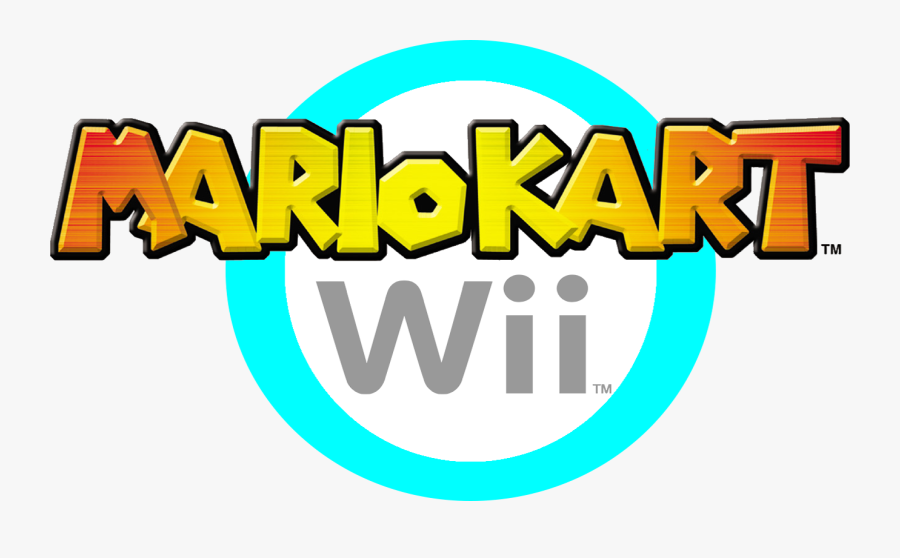 Mario Kart Wii Mario Kart Wii Logo Png Free Transparent