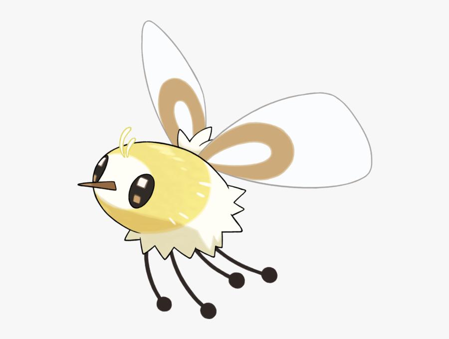 Flies Clipart Little Bug - Cutiefly Pokemon, Transparent Clipart