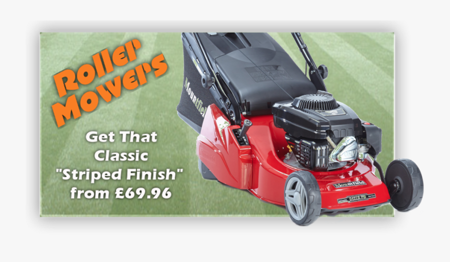 The Best Roller Mowers - Best Lawn Mower For Stripes, Transparent Clipart