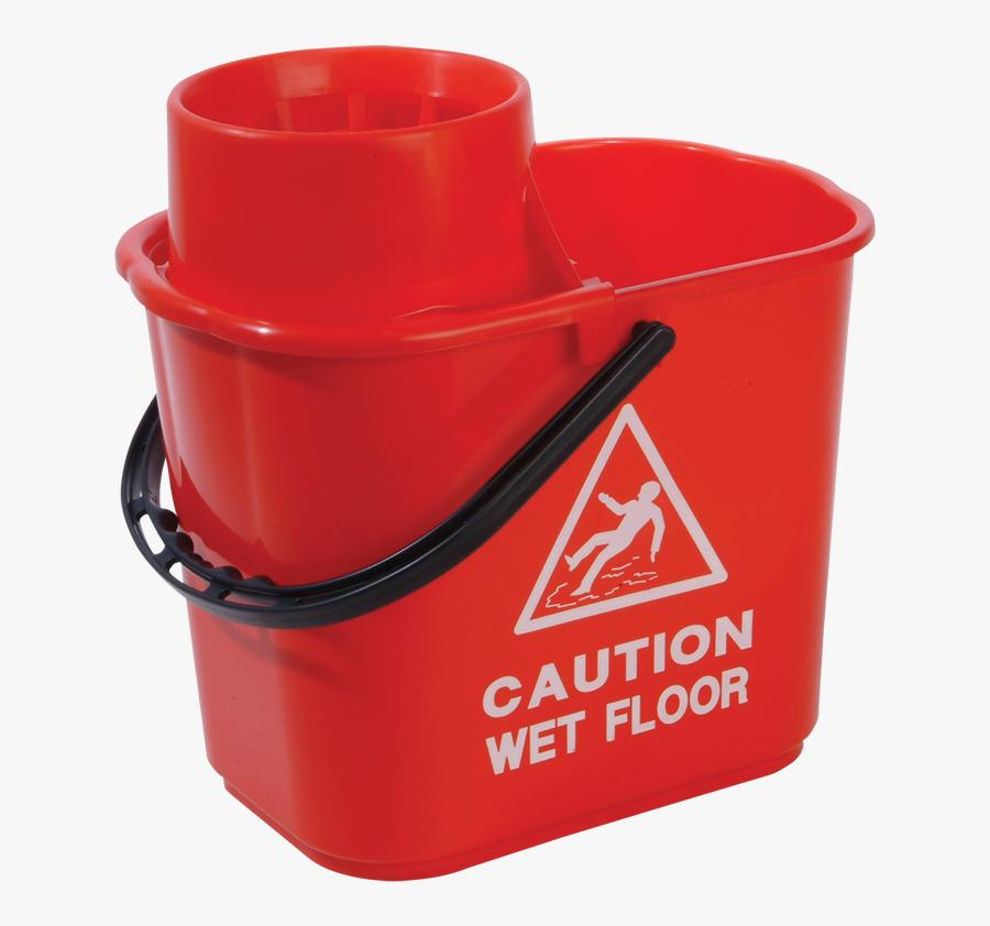 Transparent Mop And Bucket Clipart - Bucket, Transparent Clipart