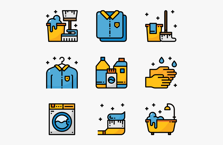 Cleaning - Pixel Icon Png, Transparent Clipart