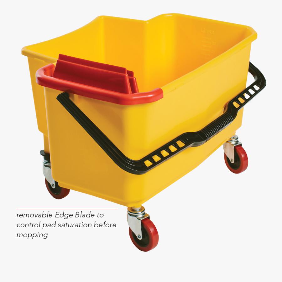 Dock N - Micro Fiber Mop Bucket Wringer, Transparent Clipart