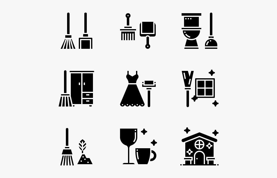 Cleaning, Transparent Clipart