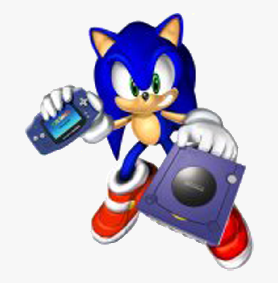 Sonic Video Game Series - Gamecube Game Boy Advance, Transparent Clipart