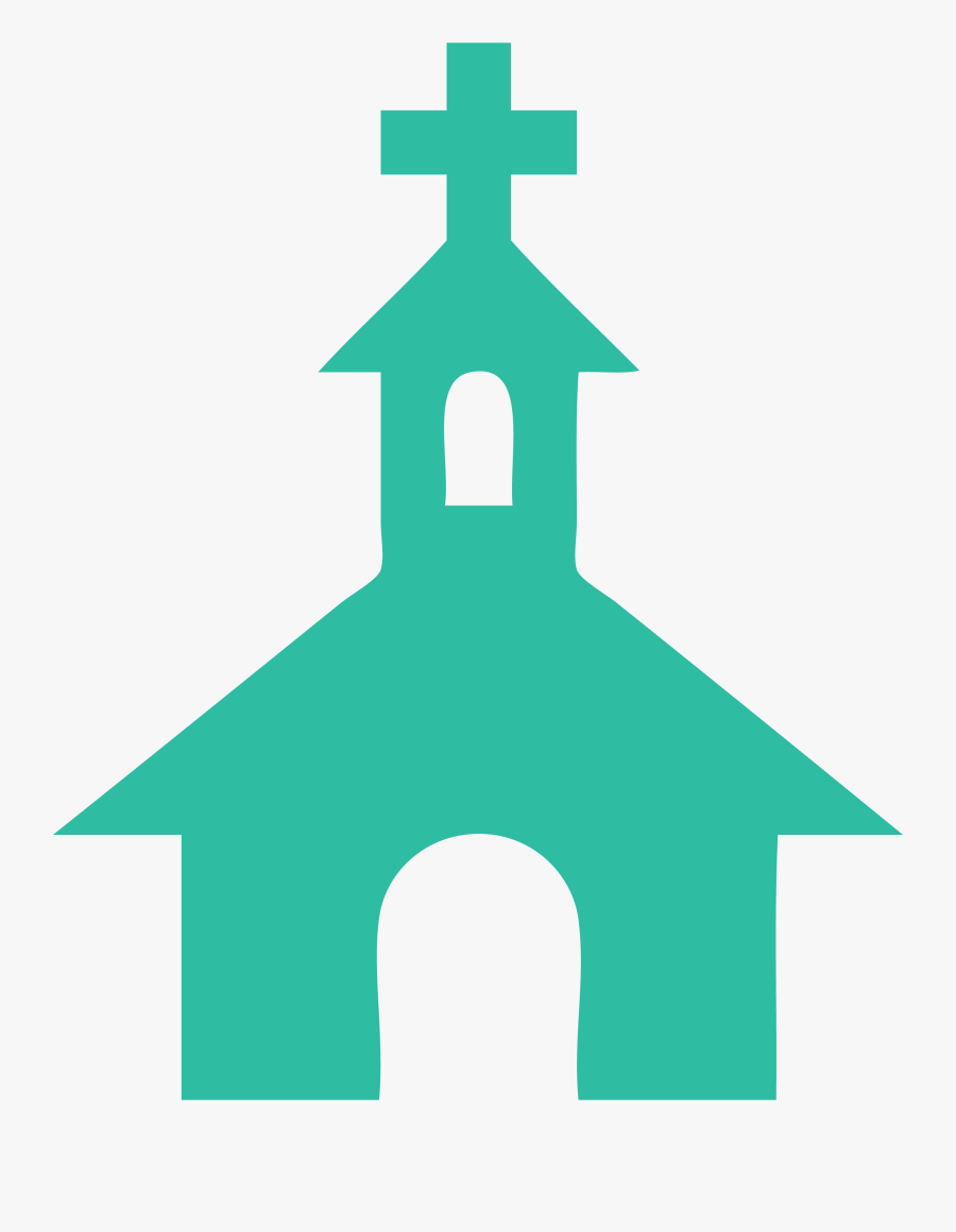 Transparent Crucifixion Of Jesus Clipart - Church Symbol On Map, Transparent Clipart