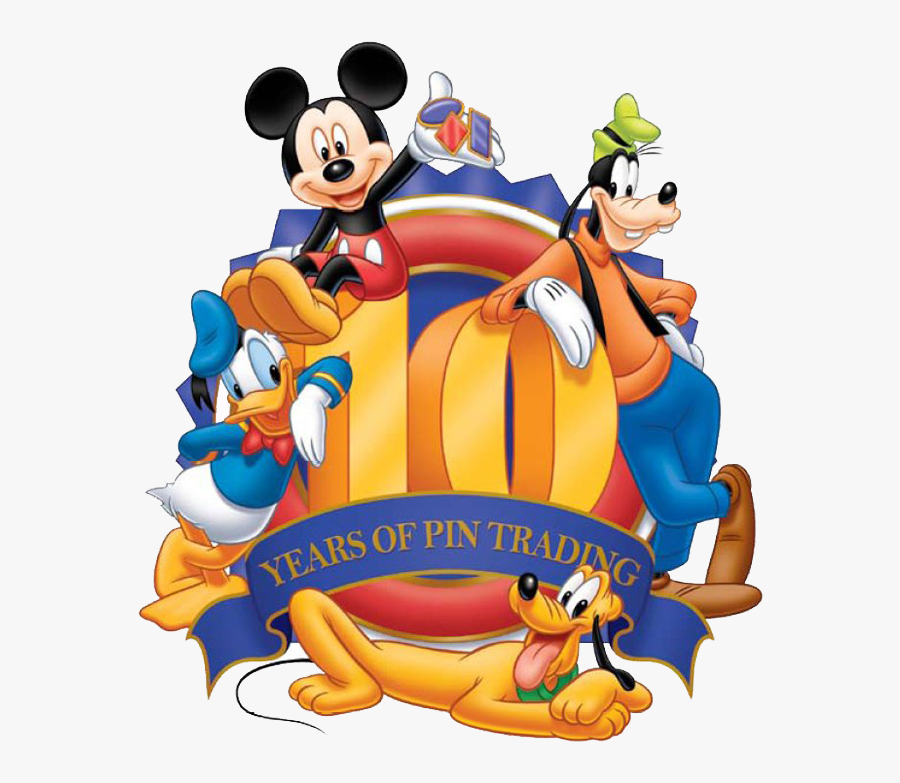 Disney Pin Trading Logos Clipart - Disney Pin Trading, Transparent Clipart