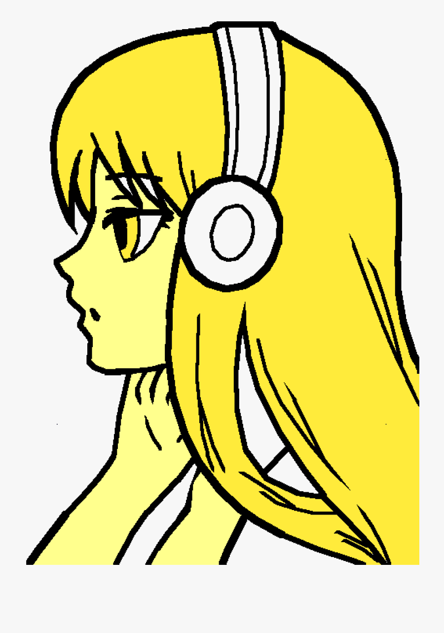 Anime Girl Small Drawing Clipart , Png Download - Easy Drawings Of Girl And Boy, Transparent Clipart