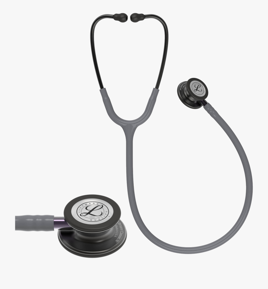 Littmann Classic 3 Grey , Transparent Cartoons - Littmann Classic 3 Grey, Transparent Clipart