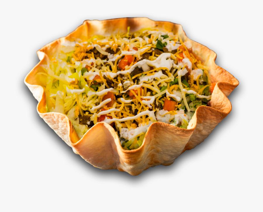 Tacos Salad - Fast Food, Transparent Clipart