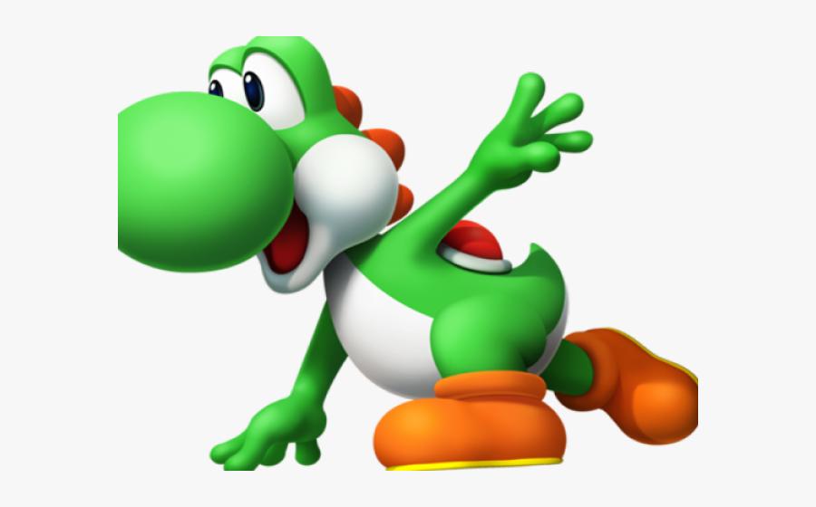 Yoshi Clipart Run - Yoshi Super Mario Png, Transparent Clipart