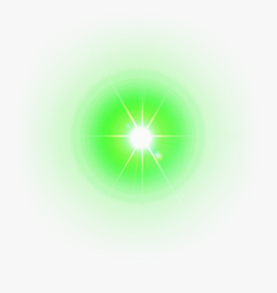 Clip Art Glowing Green Eyes - Green Lens Flare Png, Transparent Clipart