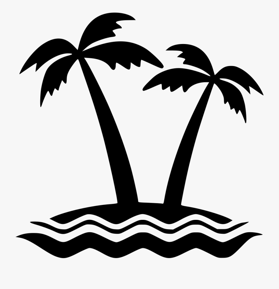 Transparent Island Clipart Png - Island Icon Png, Transparent Clipart