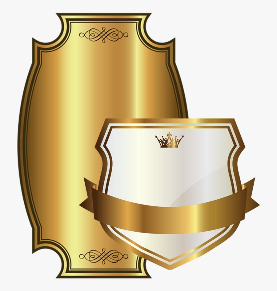 Qualità Di Stampa - White Background Gold Logo, Transparent Clipart