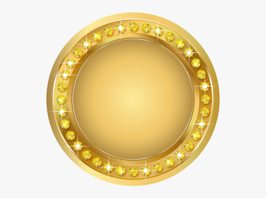 Seal Gold Png Transparent Clip Art Image - Transparent Background Gold Banner Png, Transparent Clipart