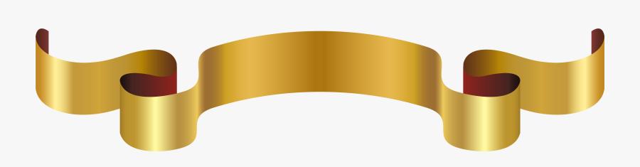 Luxury Golden Banner Png Clip Art Image - Luxury Gold Border Png, Transparent Clipart