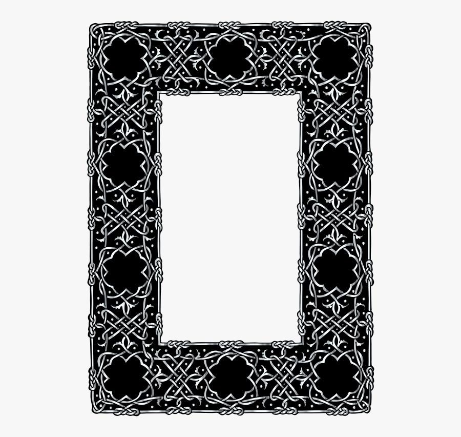 Celtic Knot Png Frame, Transparent Clipart