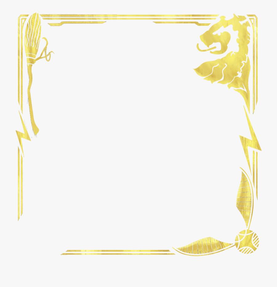 Ornate Frame - Illustration, Transparent Clipart